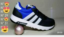 Sapatos infantil masculino e feminino