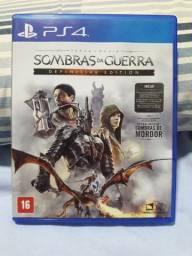 Shadows of War (Sombras da Guerra) para PS4
