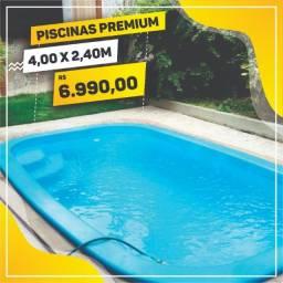 Piscinas de Fibra - Linha Premium