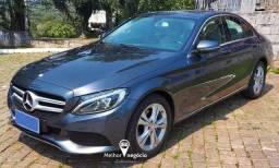 Mercedes-Benz C-180 1.6 16v Turbo Aut. Cinza