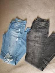 2 Calças jeans slim M.Officer e Gliss R$ 60,00