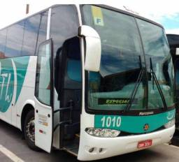 Ônibus Marcopolo - 01 Scania e 01 Mercedes