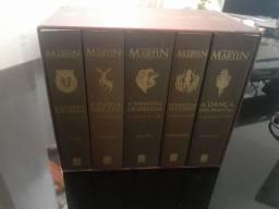 Box As Crônicas de Gelo e Fogo 5 Volumes Capa Comum