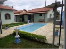 Ótima casa com 3 qtos + acréscimo + Piscina e área Gourmet em Iguaba
