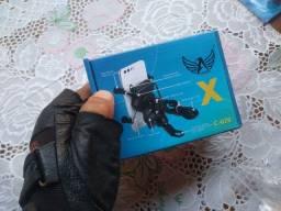 Suporte aranha para celular com carregador USB