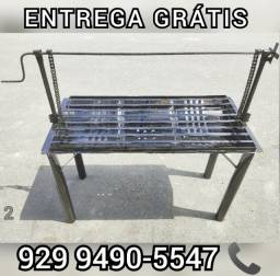 churrasqueira grande grelha ajustavel entrega gratis @!@##