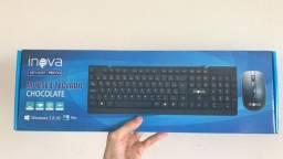 Teclado + mouse Com Fio Key-8387 / Inova