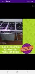 Fogão industrial com forno desapega