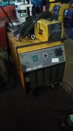 Máquina De Solda Mig Esab Lai 550a C/ Aliment. Externo