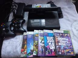 Xbox 360 com Kinect e HD 500gigas