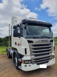 Caminhão scania r 440 6x2 completo ano 2013