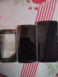 Vendo celular para retirar de  peças