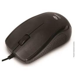 Mouse Óptico 1000 Dpi USB Preto C3tech