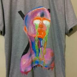 camisa psicodélic