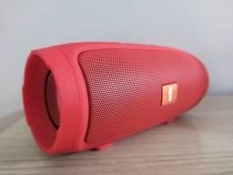 Caixa de som Charge Mini - Bluetooth Cartão Sd USB Rádio FM