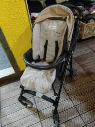 Carrinho de bebê peg-pérego com ninho e bolsa térmica