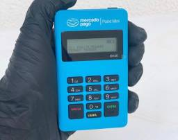 Maquininha, Maquineta, Máquina de Cartão Point Mini D150 Bluetooth Mercado Pago