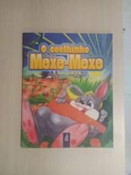 Livro: O coelhinho mexe-mexe