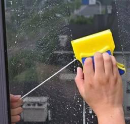 Limpa vidros magnético rodo duplo