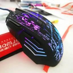 Mouse Gamer RGB, Novo