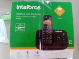 Telefone sem fio digital Intelbras TS 3130