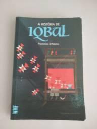 """Livro """"A história de Iqbal"""