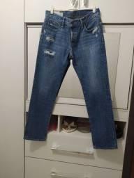 Calça masculina Marca Abercrombie, Tam 40