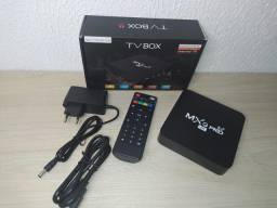 TV Box transforma sua TV em Smart. R$240.