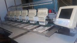 Máquina de Bordado Computadorizado Industrial