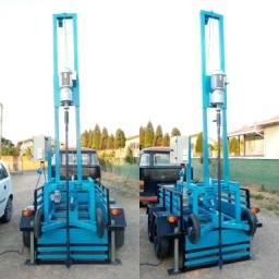 Máquina de Poço Semi-Artesiano