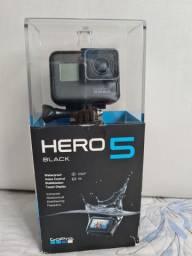 Gopro Hero 5 com todos acessórios