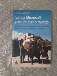 """Livro """"Sai da microsoft para mudar o mundo"""""""