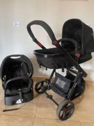 Carrinho de bebê com bebê conforto Safety 1st mobi