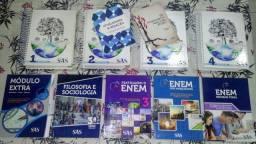 Livros SAS Enem semi novo