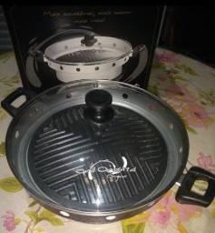 Grill e churrasqueira de fogão