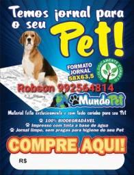 Jornal limpo pet/cachorro/Pets 7.00