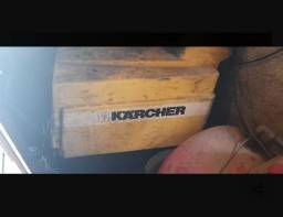 Lavadora de alta pressão Karcher água quente e fria