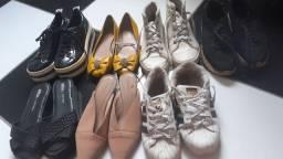 Lote sapatos 37