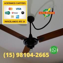 Instalação## de Ventiladores de teto