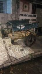 Carroça de carga três pneus