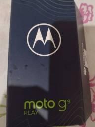 Moto g9 play 64 gb, tela 6.5, novinho.