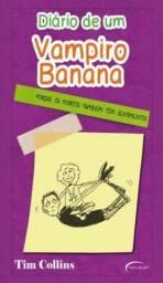Livro Diário de um Vampiro Banana( Seminovo mas em ótimas Condições