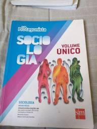 Ser Protagonista Sociologia Volume Único