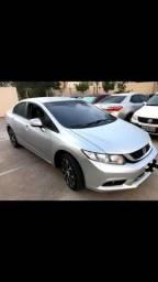 Civic  lxr 2015 automático 80km  valor 57.900,00