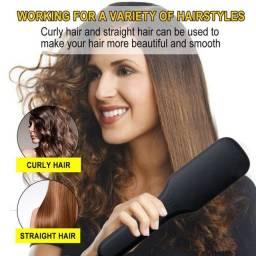 Escova de cabelo Alisadora 2 in 1 - loja Minichina