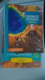 Livros 6 Ano Panoramas , Conquista da Matemática ,Sociedade e Codadania