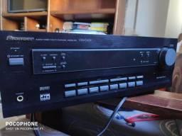Amplificador Pioneer modelo  VDX D409 em estado de novo.