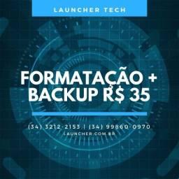 Formatação R$ 35