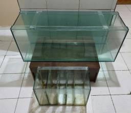 Aquário Grande 1,20 X 40 X 49 com Sump ou separado