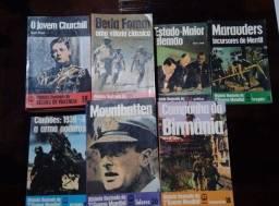 Coleção com 60 exemplares, sobre a Segunda Guerra Mundial.